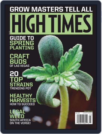 High Times May 1st, 2019 Digital Back Issue Cover