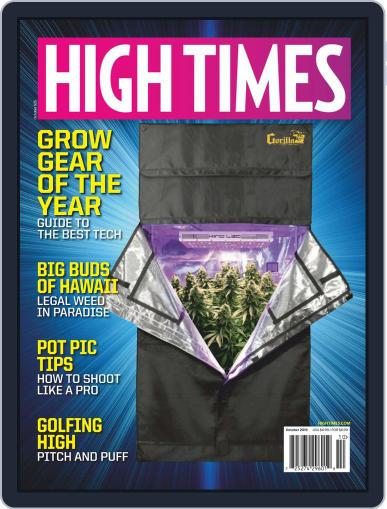 High Times October 1st, 2019 Digital Back Issue Cover