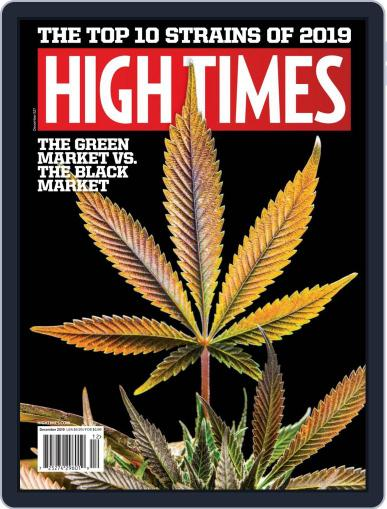 High Times December 1st, 2019 Digital Back Issue Cover