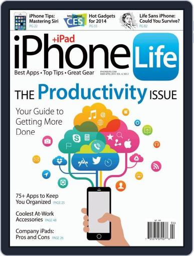 Iphone Life February 1st, 2014 Digital Back Issue Cover