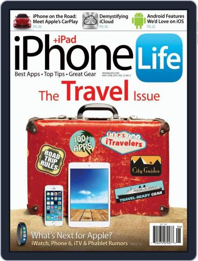 Iphone Life April 1st, 2014 Digital Back Issue Cover