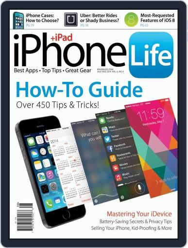 Iphone Life June 1st, 2014 Digital Back Issue Cover