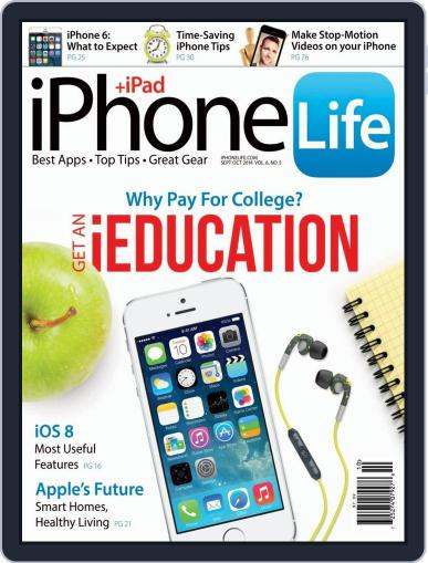 Iphone Life August 1st, 2014 Digital Back Issue Cover