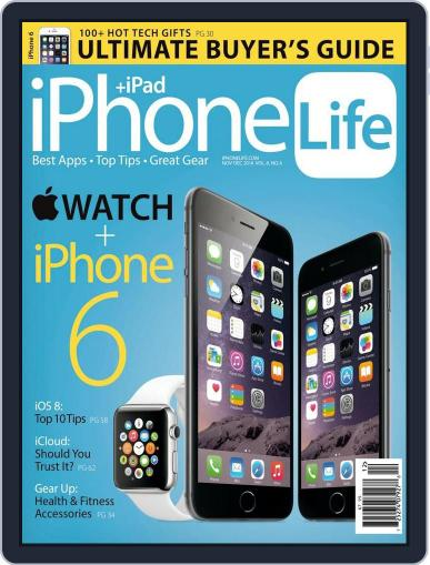 Iphone Life October 1st, 2014 Digital Back Issue Cover