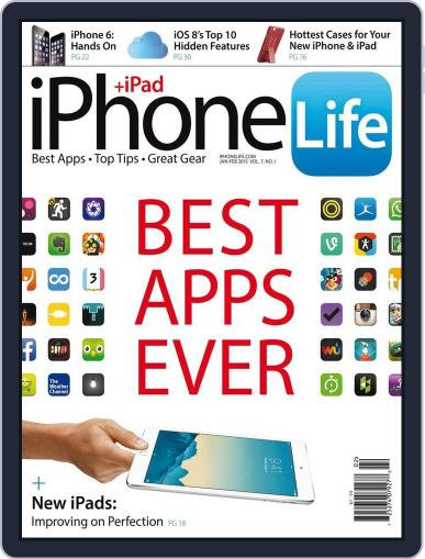 Iphone Life January 1st, 2015 Digital Back Issue Cover