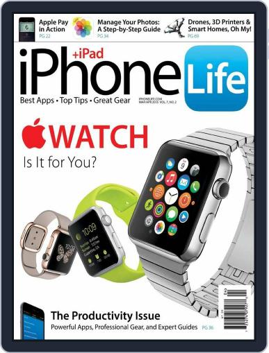 Iphone Life February 1st, 2015 Digital Back Issue Cover