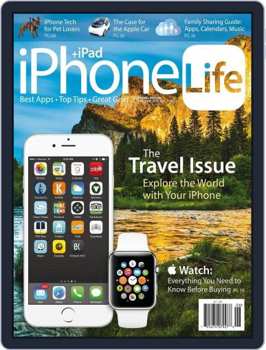 Iphone Life April 1st, 2015 Digital Back Issue Cover