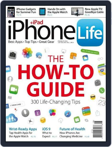 Iphone Life June 2nd, 2015 Digital Back Issue Cover