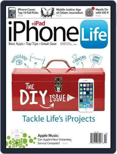 Iphone Life August 4th, 2015 Digital Back Issue Cover