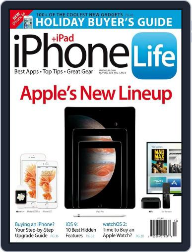 Iphone Life October 5th, 2015 Digital Back Issue Cover
