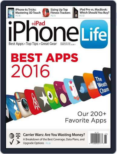 Iphone Life December 8th, 2015 Digital Back Issue Cover