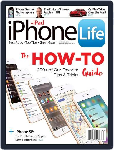 Iphone Life April 13th, 2016 Digital Back Issue Cover