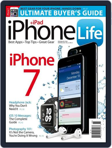Iphone Life October 1st, 2016 Digital Back Issue Cover