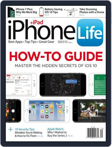 Iphone Life March 1st, 2017 Digital Back Issue Cover