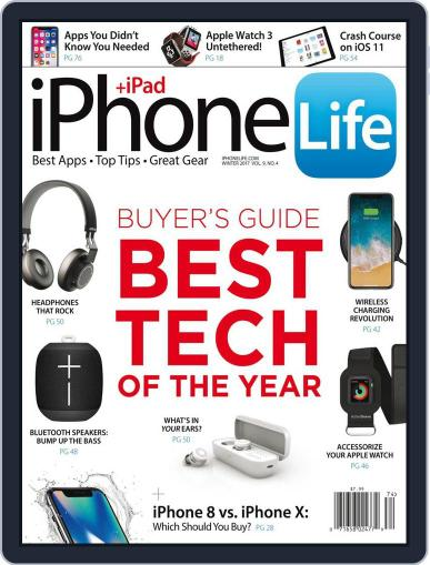Iphone Life October 4th, 2017 Digital Back Issue Cover