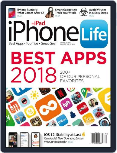 Iphone Life July 1st, 2018 Digital Back Issue Cover