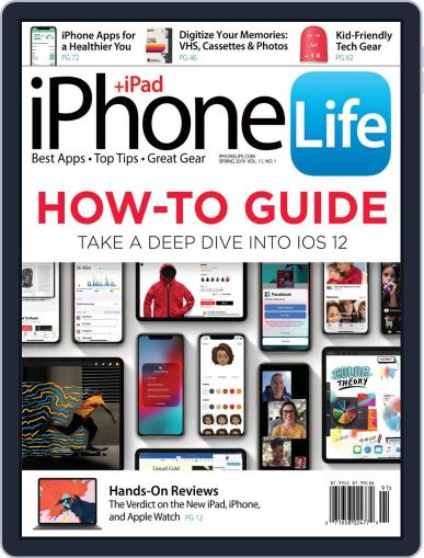 Iphone Life January 2nd, 2019 Digital Back Issue Cover