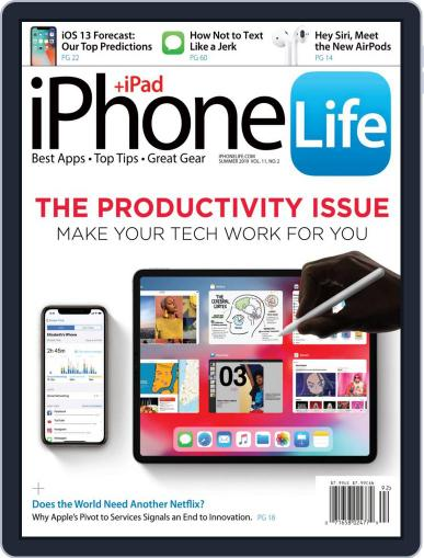 Iphone Life April 1st, 2019 Digital Back Issue Cover