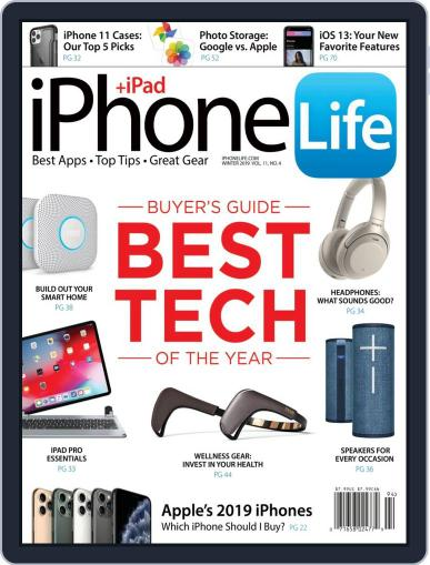 Iphone Life October 2nd, 2019 Digital Back Issue Cover
