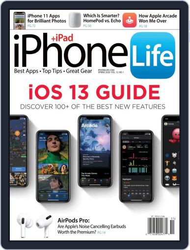 Iphone Life January 1st, 2020 Digital Back Issue Cover