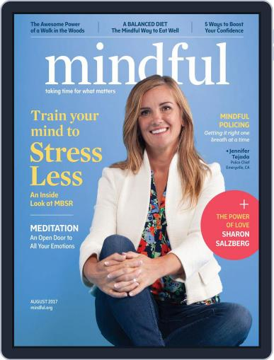Mindful August 1st, 2017 Digital Back Issue Cover