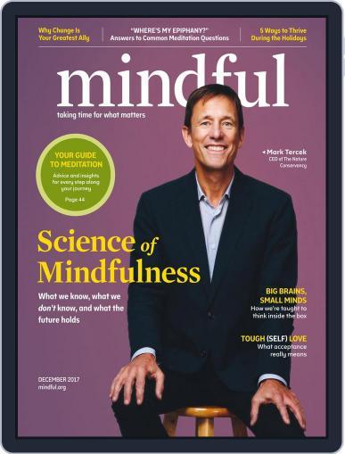 Mindful December 1st, 2017 Digital Back Issue Cover