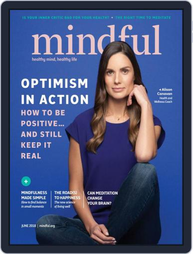 Mindful June 1st, 2018 Digital Back Issue Cover