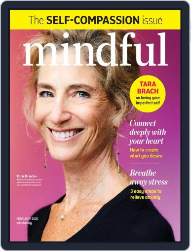 Mindful February 1st, 2020 Digital Back Issue Cover