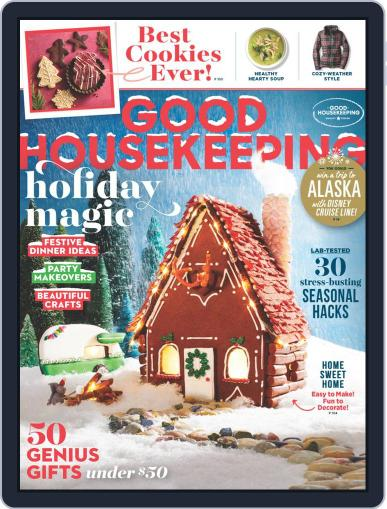 Good Housekeeping December 1st, 2018 Digital Back Issue Cover