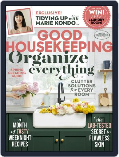 Good Housekeeping March 1st, 2019 Digital Back Issue Cover