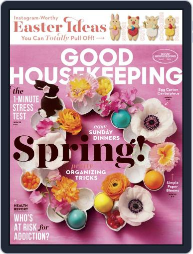 Good Housekeeping April 1st, 2019 Digital Back Issue Cover