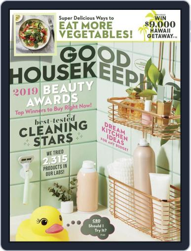 Good Housekeeping May 1st, 2019 Digital Back Issue Cover