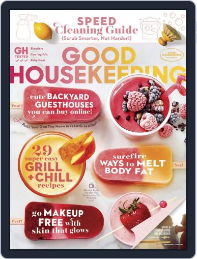 Good Housekeeping August 1st, 2019 Digital Back Issue Cover