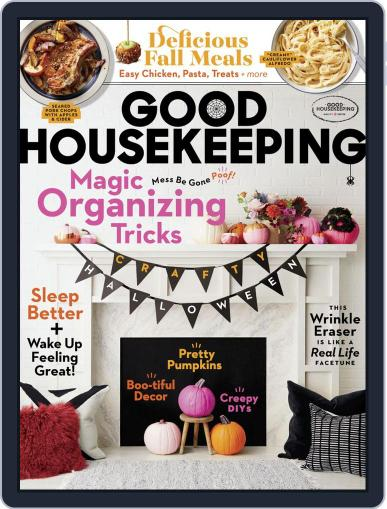 Good Housekeeping October 1st, 2019 Digital Back Issue Cover