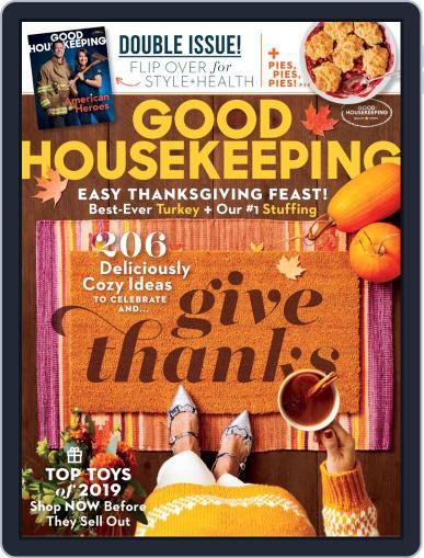 Good Housekeeping November 1st, 2019 Digital Back Issue Cover