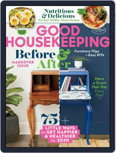 Good Housekeeping January 1st, 2020 Digital Back Issue Cover