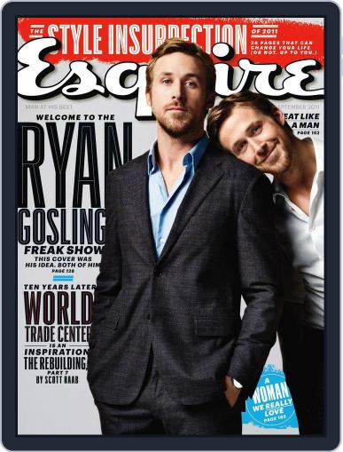 Esquire August 17th, 2011 Digital Back Issue Cover