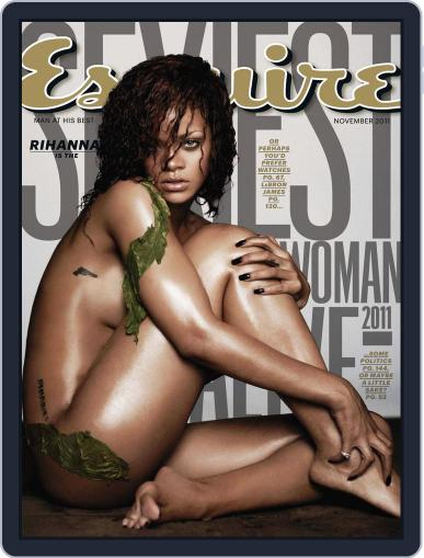 Esquire October 18th, 2011 Digital Back Issue Cover