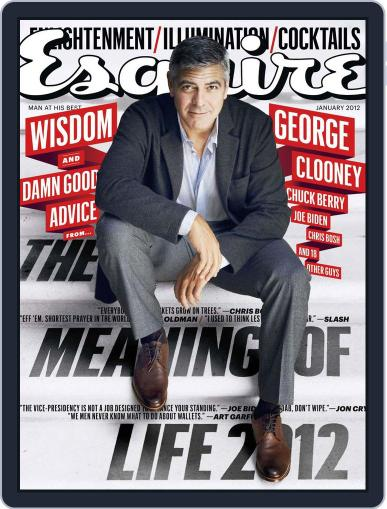Esquire December 20th, 2011 Digital Back Issue Cover