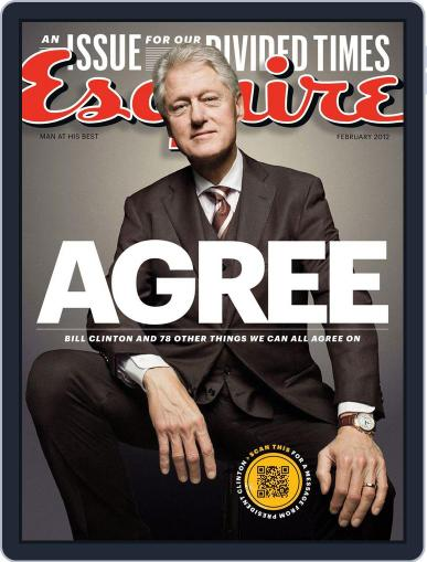 Esquire January 24th, 2012 Digital Back Issue Cover