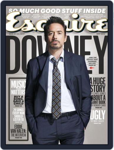 Esquire April 24th, 2012 Digital Back Issue Cover