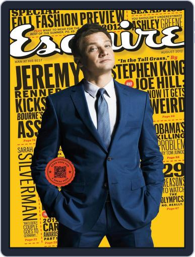 Esquire July 10th, 2012 Digital Back Issue Cover