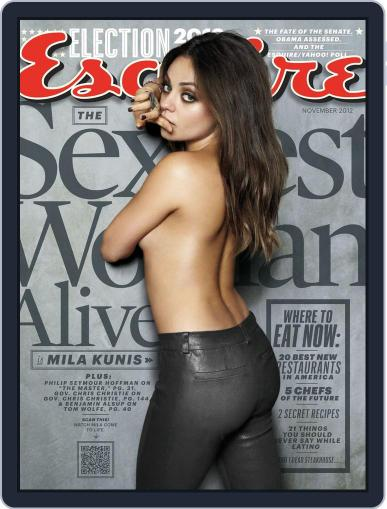 Esquire October 15th, 2012 Digital Back Issue Cover