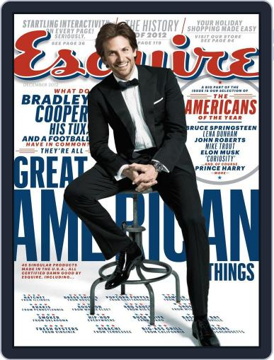 Esquire November 19th, 2012 Digital Back Issue Cover