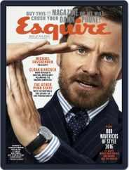Esquire (Digital) Subscription December 1st, 2016 Issue