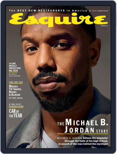 Esquire November 21st, 2019 Digital Back Issue Cover