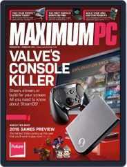 Maximum PC (Digital) Subscription January 12th, 2016 Issue