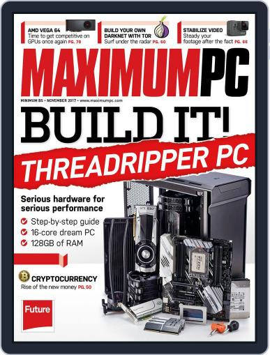 Maximum PC November 1st, 2017 Digital Back Issue Cover