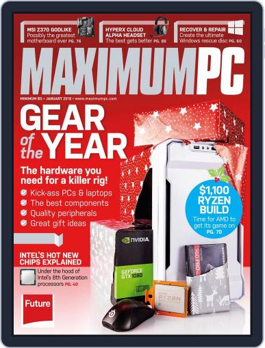 Maximum PC January 1st, 2018 Digital Back Issue Cover