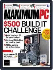 Maximum PC (Digital) Subscription May 1st, 2018 Issue